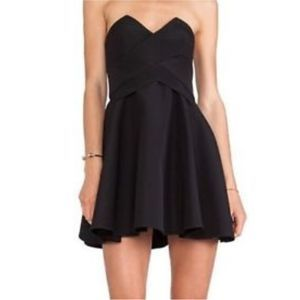 Keepsake 3 Dimensions Structured Strapless Dress